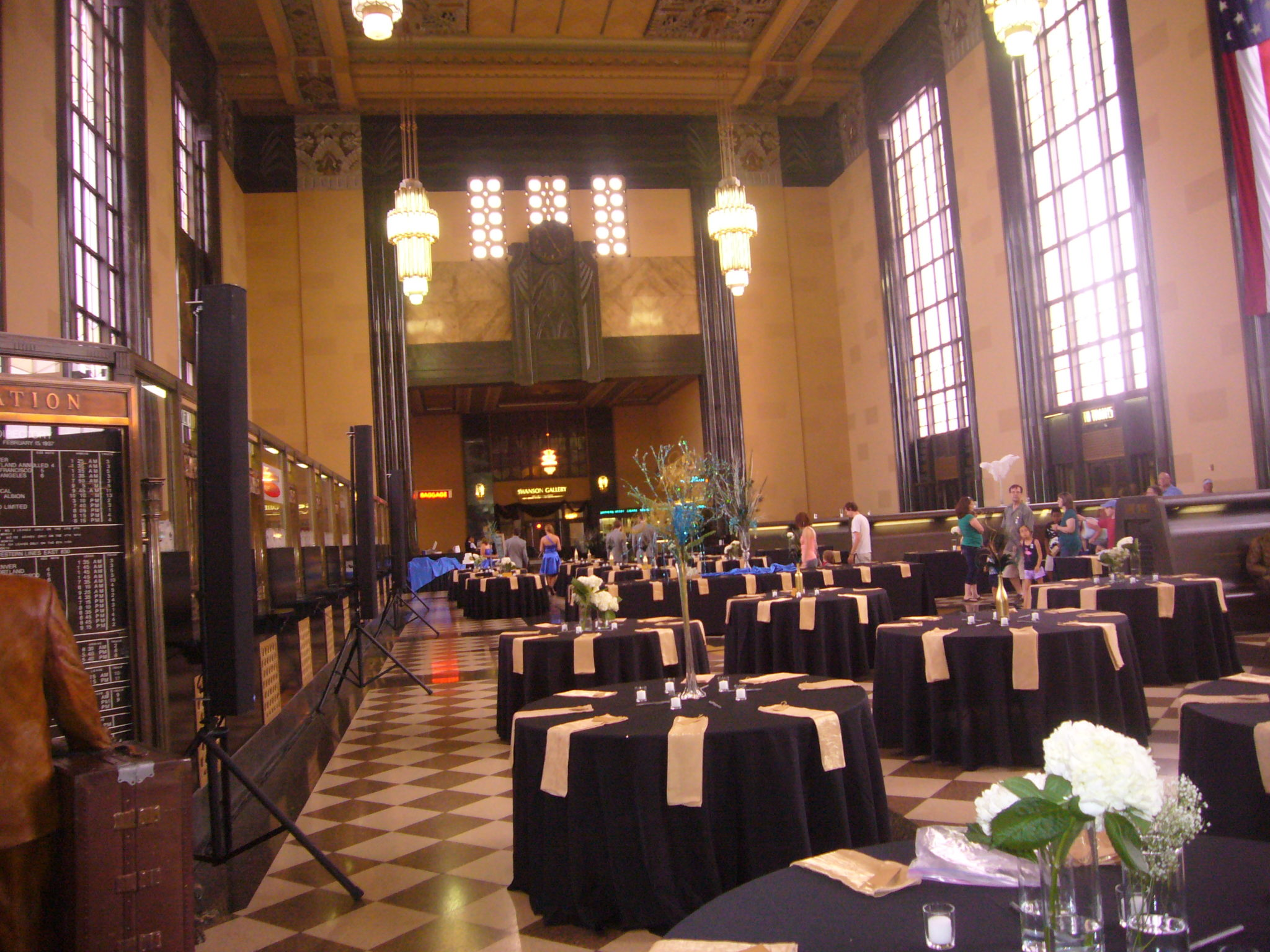 Take Your Guests on a Journey with a Train Station Wedding
