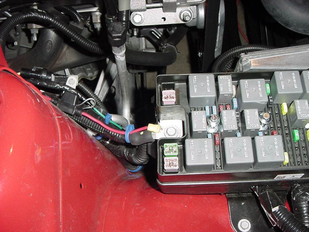 medium resolution of leave room to do other work not taking tight short cuts in wiring fog lights