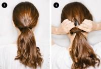 Hairstyles With 2 Hair Ties | Hair