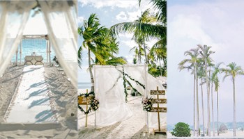 Beach wedding bride and breakfast 9 beach wedding venues that will make you crave for some vitamin sea part i junglespirit Images