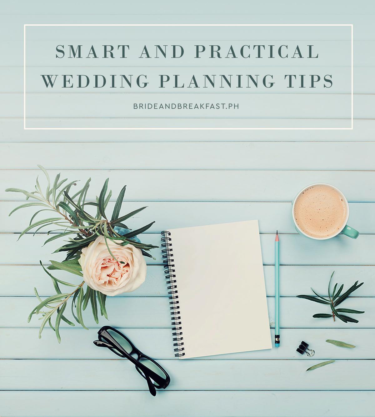 practical wedding planning tips