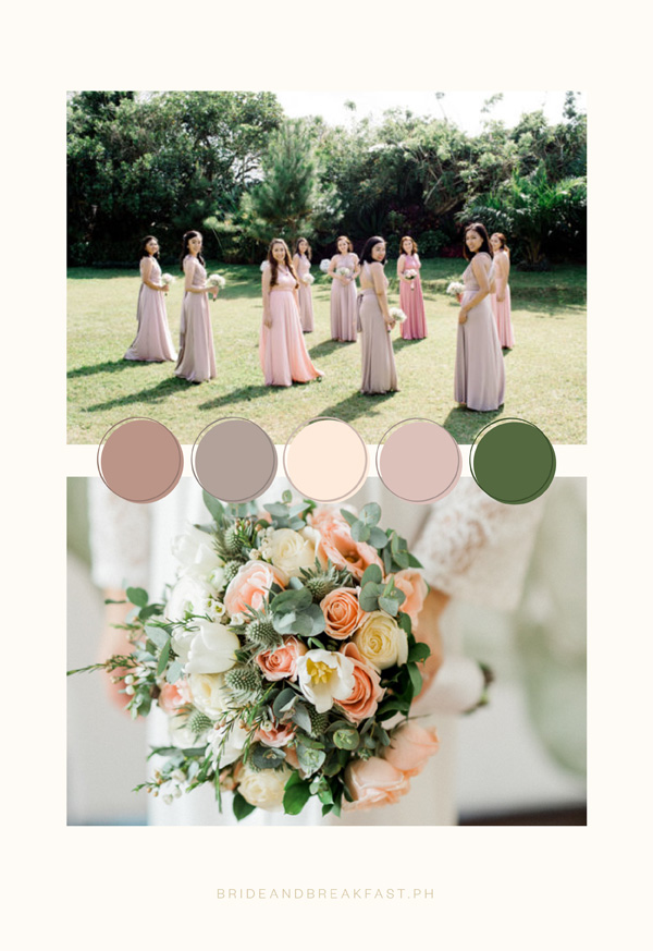 Rustic Wedding Color Palettes  Philippines Wedding Blog