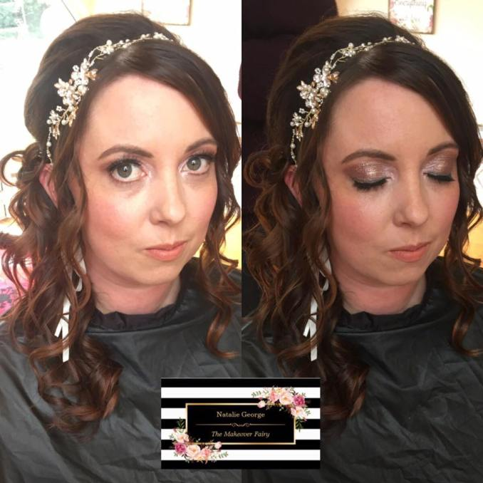 natalie george, the makeover fairy | wedding beauty, hair
