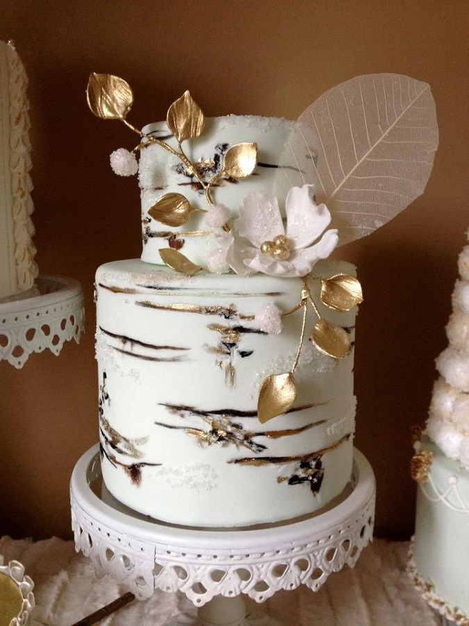 Winter Wedding Cake Inspiration