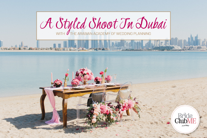A Styled Shoot In Dubai, With The Arabian Wedding Planning