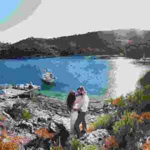 Summer Wedding in Ithaca | Καλοκαιρινός γάμος στην Ιθάκη | bridediaries.com