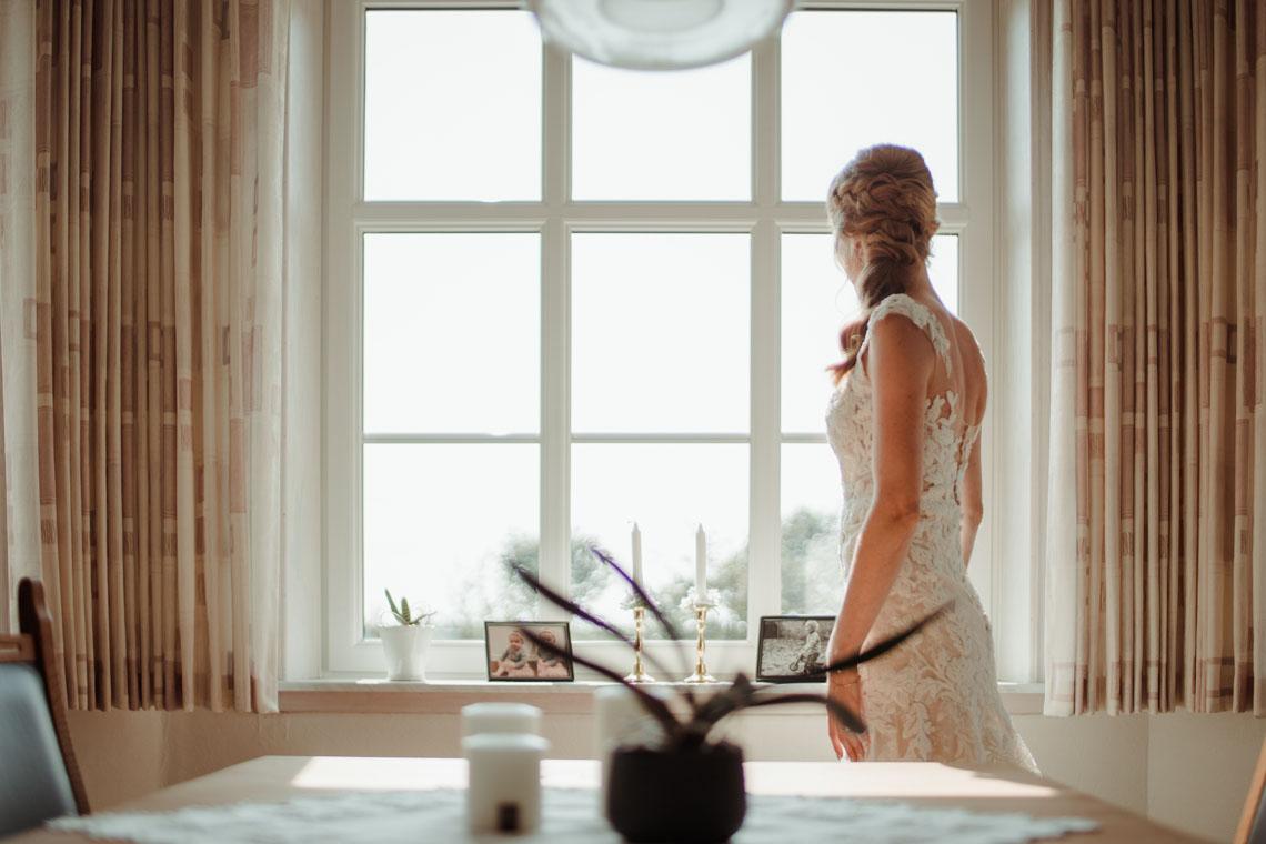 Smuk brud - foto af Morten Elsborg