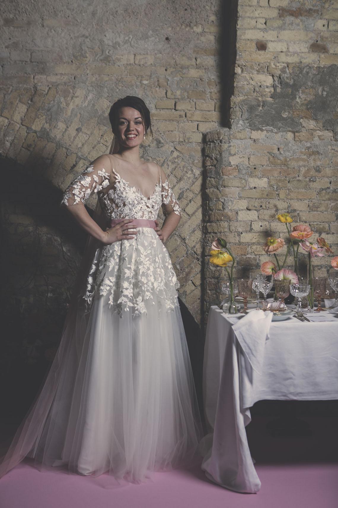 Specialdesignet brudekjole fra bryllupsklub
