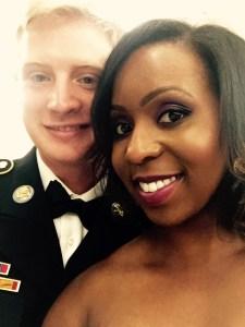 Military Couple- Bride on Base