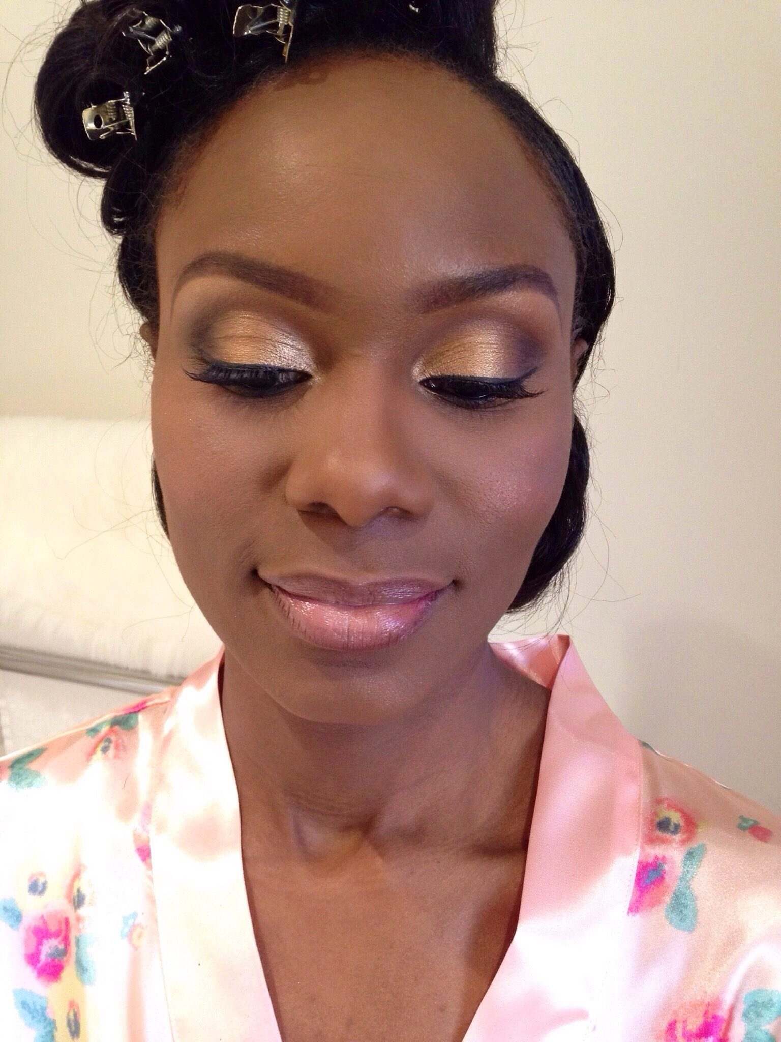 Joy Adenuga Makeup Artist » black wedding makeup london