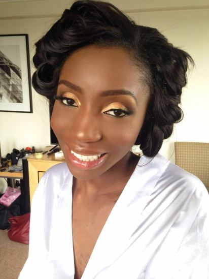 bayode's wedding, black bride london, black makeup artist london, london makeup artist for black skin, black bridal blog, wedding makeup artist for dark skin