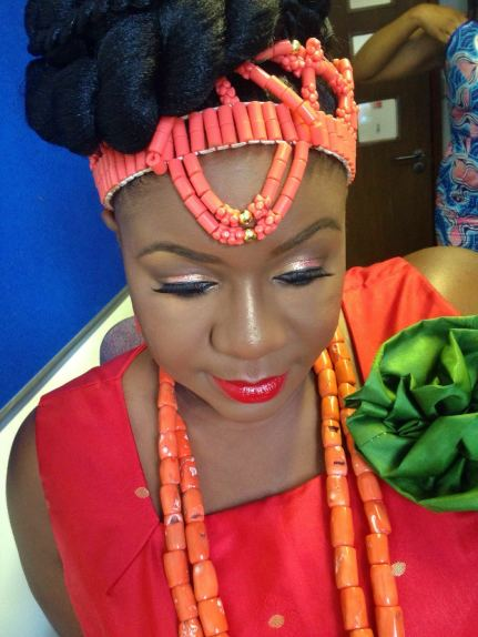 black makeup artist london, makeup artist for black skin, wedding makeup artist for dark skin, nigerian bride, bridal black makeup artist, joy adenuga, black bridal blog uk, red lips for dark skin, red lips for black skin