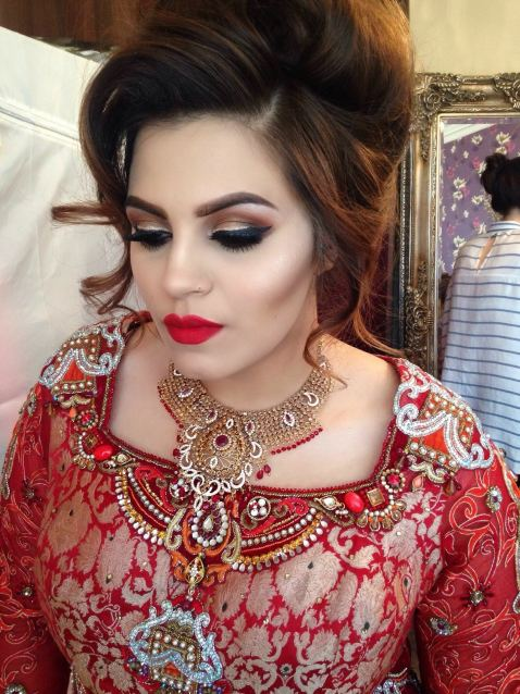 Indian wedding - The Asif's, indian wedding london, makeup artist for indian wedding, indian bride london, indian makeup inspiration