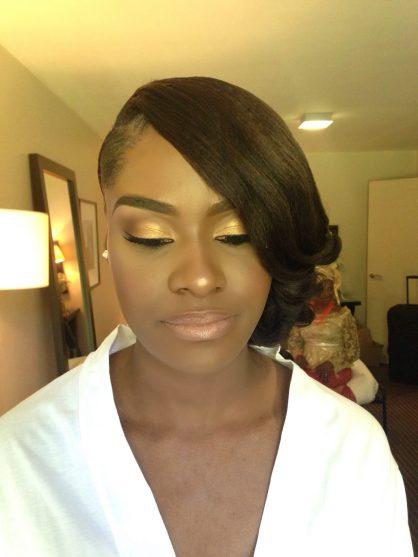 Nkem's Wedding, london makeup artist for black skin, black makeup artist london, wedding makeup artist for dark skin, black bridal blog