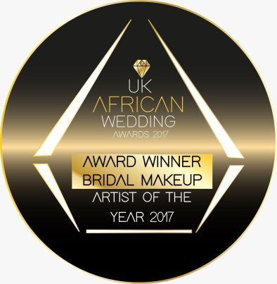 I Won, Award winning makeup artist, Award winning black makeup artist, Uk African Wedding Awards, UKAWA, Bridal makeup artist of the year 2017 - Joy Adenuga, Black bride, Jamaican Bride, Jamaican wedding, joy adenuga, black brides, black bridal blog london, london black makeup artist, london makeup artist for black skin, black bridal makeup artist london, makeup artist for black skin, nigerian makeup artist london, makeup artist for women of colour