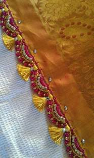 Saree Pallu- Tassels that add the Oomph!