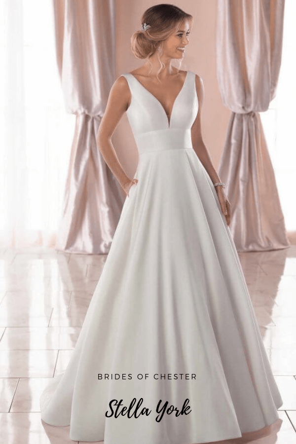 Brides of Chester introduces Stella York 6758