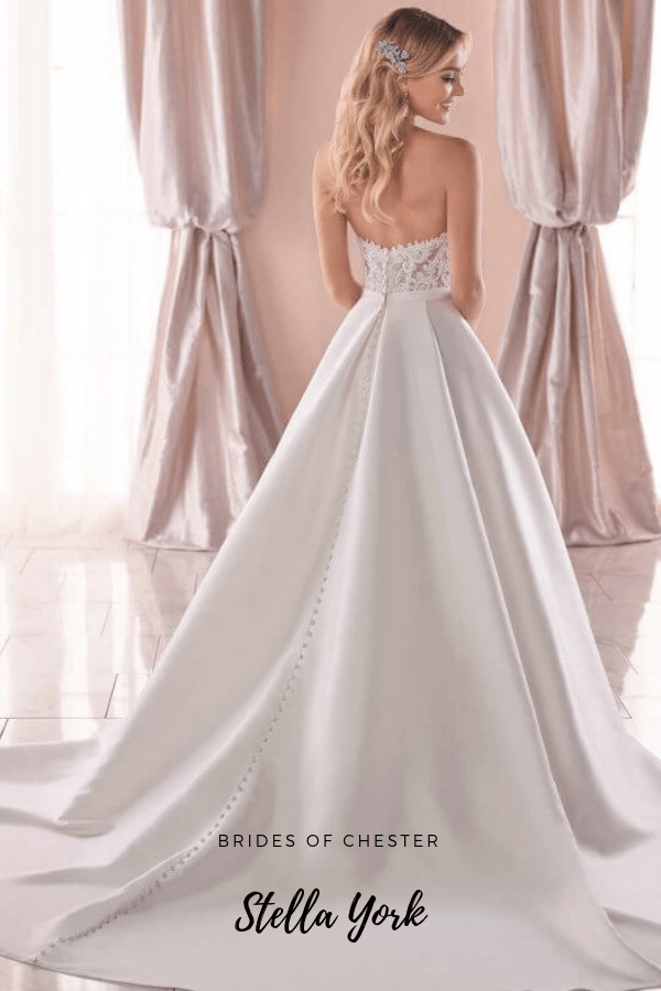 Brides of Chester introduces Stella York 6763 Wedding Dress