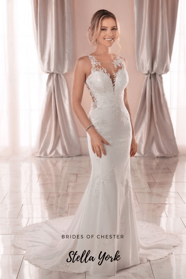 Brides of Chester introduces Stella York 6916