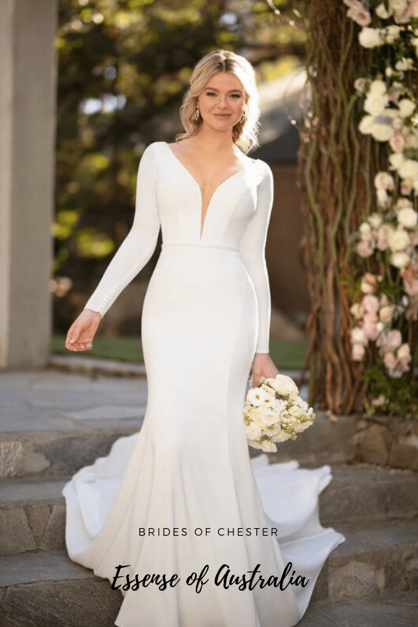 Brides of Chester introduces Essense of Australia D2972