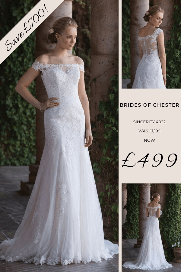 Brides of Chester introduces Sincerity 4022