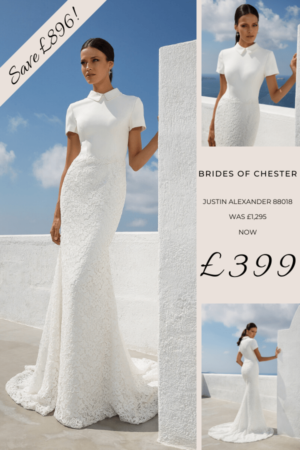 Brides of Chester introduces Justin Alexander 88018