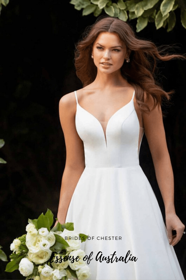 Brides of Chester introduces Essense of Australia D3080