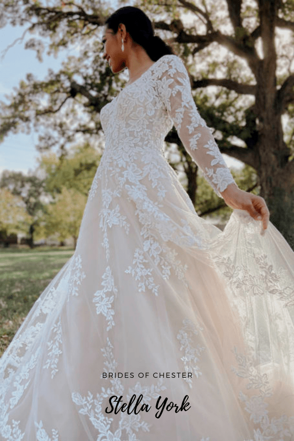 Brides of Chester introduces Stella York 7169