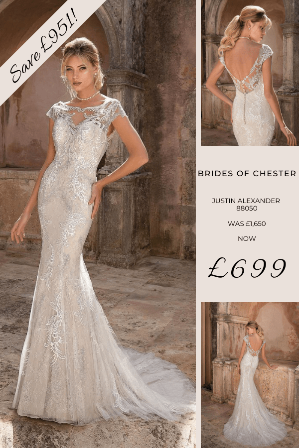 Brides of Chester introduces Justin Alexander 88050