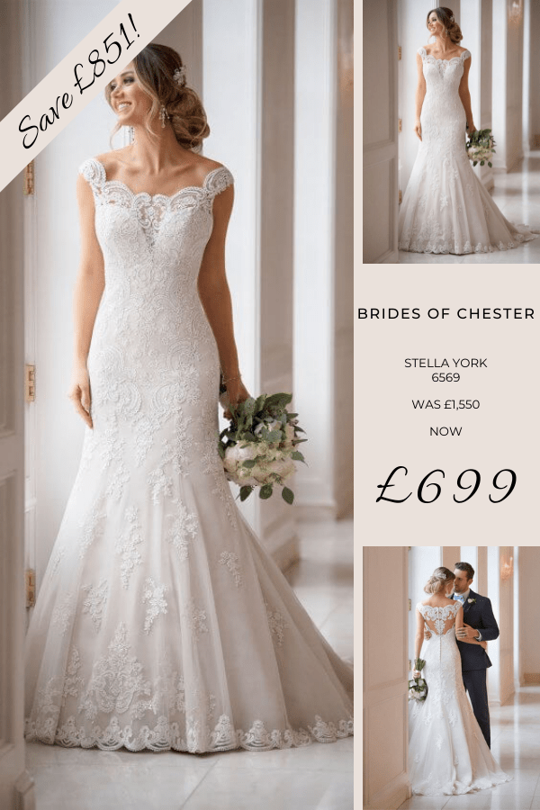 Brides of Chester introduces Stella York 6569