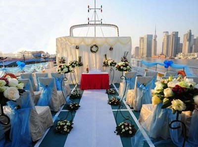 yacht wedding