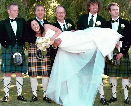 How to Wear a Kilt for your Scottish Wedding? - Brides on a ...