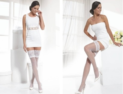 Wedding hosiery tips to complete your bridal look