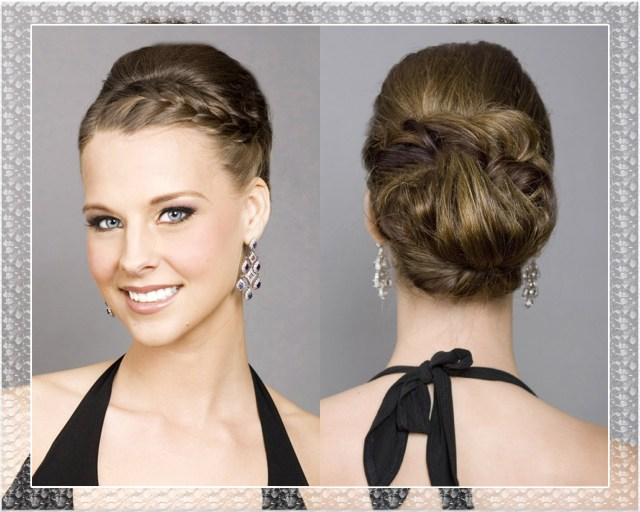 incorporate a braid in your wedding hairstyle updo | bride