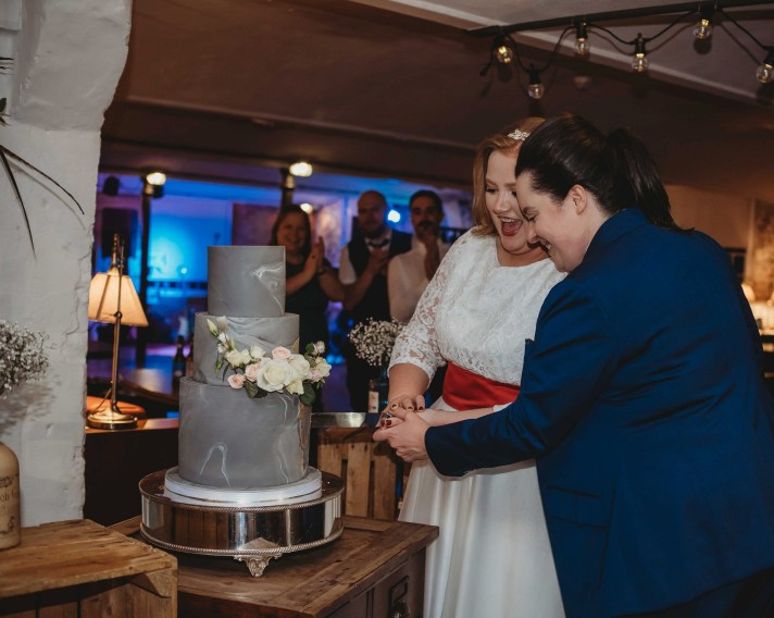 A Sparkling Wedding at The West Mill (c) Sharon Trees (59)
