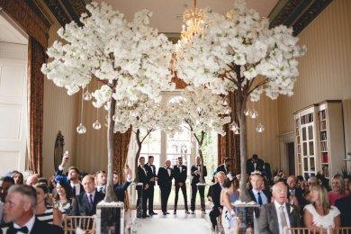 A Black Tie Wedding at Swinton Park (c) M&G Photography (15)