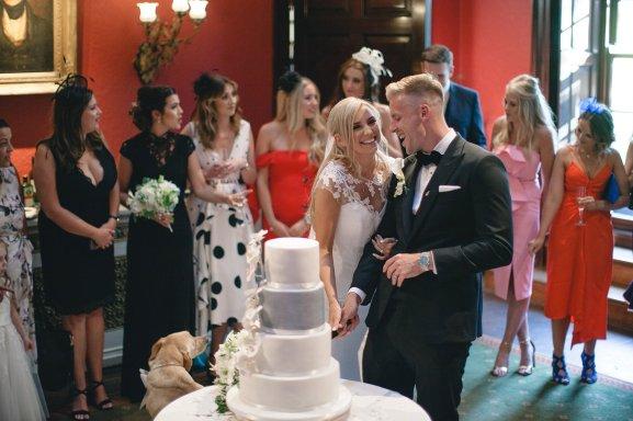 A Black Tie Wedding at Swinton Park (c) M&G Photography (41)