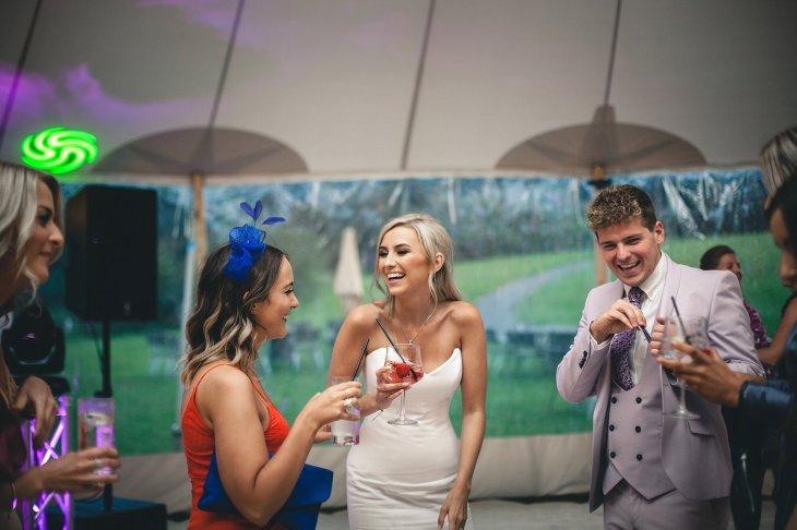 A Black Tie Wedding at Swinton Park (c) M&G Photography (57)