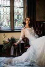 A Gothic Styled Shoot at Samlesbury Hall (c) Sarah Longworth Photography (16)