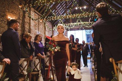 A Winter Wedding at Barmbyfields Barn (c) Photography34 (13)