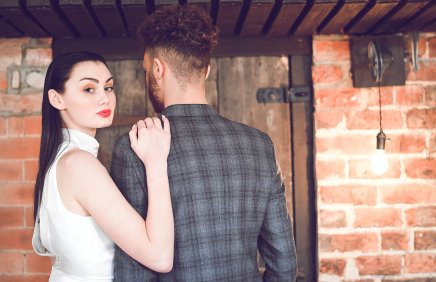 An Industrial Glam Bridal Shoot at Deighton Lodge (c) Littles and Loves Photography (28)