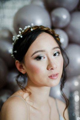 A Contemporary Coastal Bridal Shoot at Marsden Rock (c) Leanne Elizabeth Photography (31)