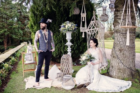 A Bold Boho Wedding Shoot at Eaves Hall (c) Teresa C Photography (26)