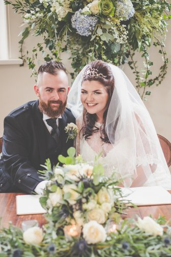 Scottish Wedding at beautiful Iscoyd Park shot by Cara Green