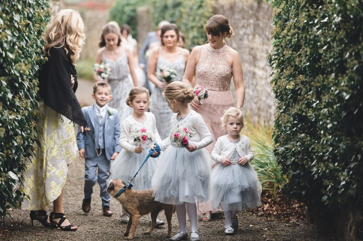 Kenneth Winston for a chic wedding at Yorkshire Wedding Barn (c) Michael Wilkinson Photography (22)
