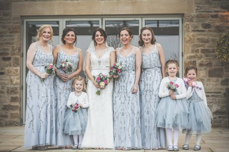 Kenneth Winston for a chic wedding at Yorkshire Wedding Barn (c) Michael Wilkinson Photography (45)