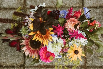 A Multicoloured Wedding at Danby Castle (c) Benni Carol Photography (3)