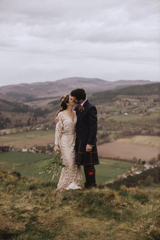 A Rustic Wedding in Scotland (c) Fox & Bear Photography (39)