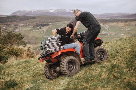 A Rustic Wedding in Scotland (c) Fox & Bear Photography (4)