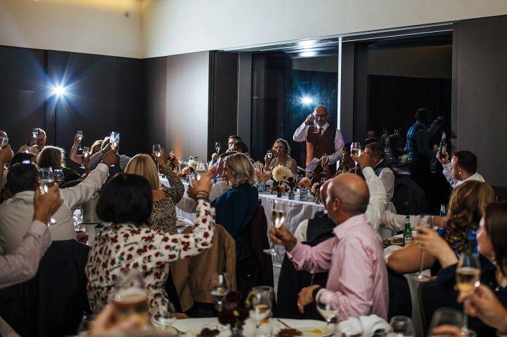 An autumn wedding at The Hepworth Wakefield (c) Matt Sim Photograohy (27)